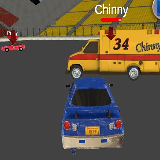Chasing Car Demolition Crash