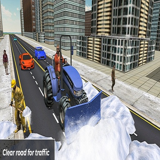 Grand Snow Clean Road Driving Simulator 19