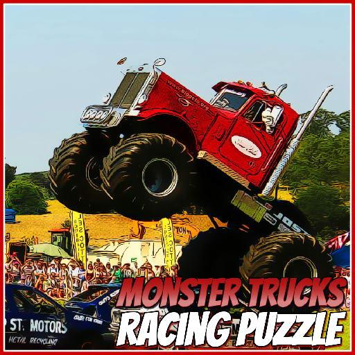 Monster Trucks Racing Puzzle