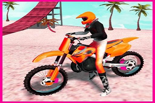 Motocross Beach Jumping Bike Stunt Game