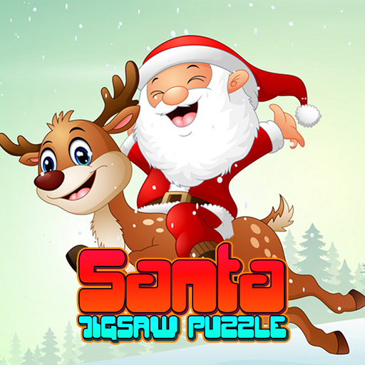 Santa Jigsaw Puzzle Game