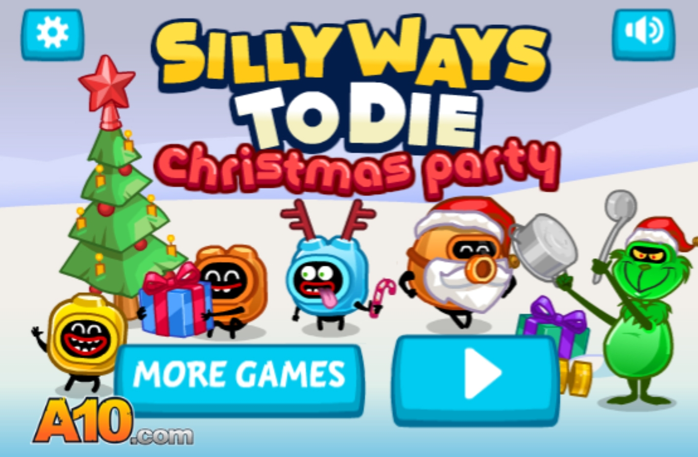 Silly Ways To Die Christmas Party